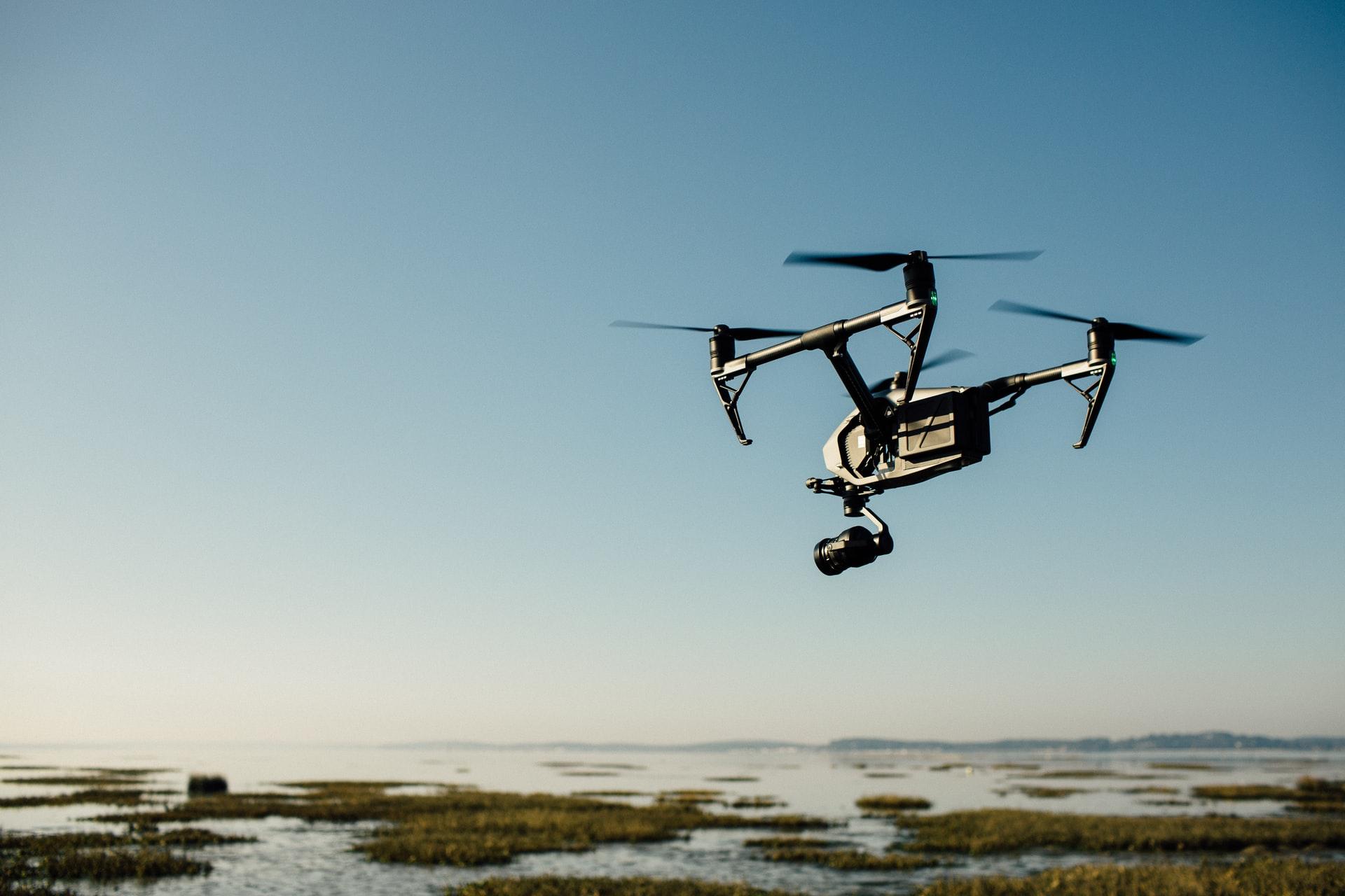 Drone med WiFi-forbindelse